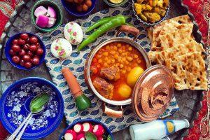 Abgosht , Such an Iranian nutrition food